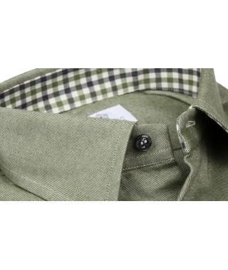 Camicia Flanella Verde
