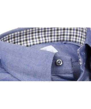 Camicia Flanella Bluette