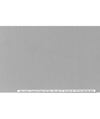 Tessuto Pintpoint Bianco