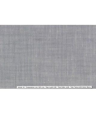 Tessuto Ari Lino Bianco