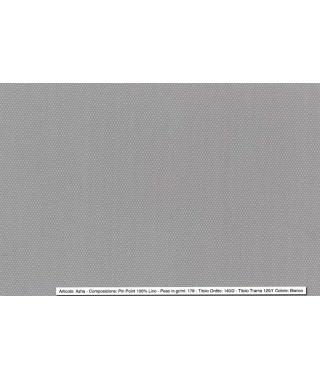 Tessuto Pintpoint Oxford Bianco