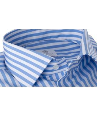 Camicia Pari Largo Azzurro 100% Cotone
